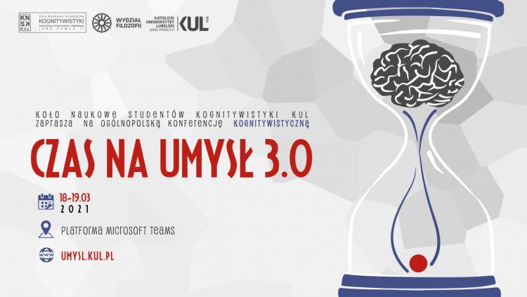 Czas na umysł 3.0. Ogólnopolska konferencja kognitywistyczna
