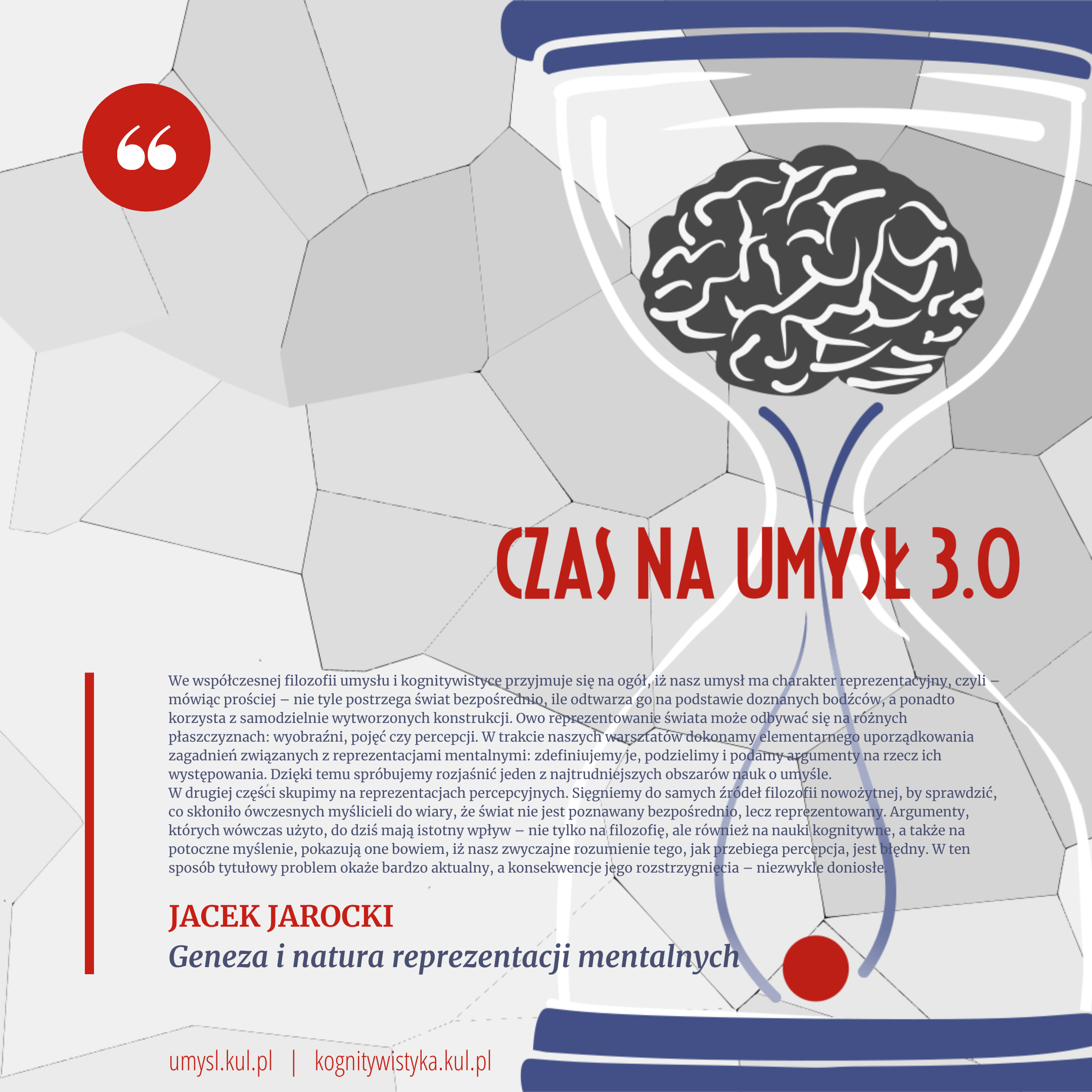 Jacek Jarocki - Geneza i natura reprezentacji mentalnych